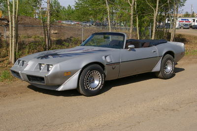 1980 Trans Am Turbo Convertible